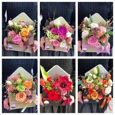 Unique Flower Arrangements, Unique Flowers, Handmade Flowers, Diy Flowers, Flower Box Gift, Flower Boxes, Flower Cards, Paper Flower Decor, Paper Flowers