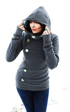 A cute hoodie from Etsy: A 'Hood the World' Production for Pimp My Pixels.