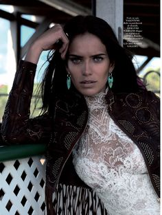 "Duchess Dior: ""Amanda Wellsh Victorian Cowgirl"" by Mathieu Cesar for L'Officiel Magazine April 2016"