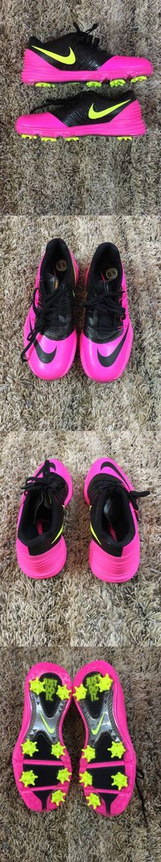 Golf Shoes 181147: New Nike Women S Lunar Control Golf Shoes Size 6.5 Pink Black Volt 819034-600 -> BUY IT NOW ONLY: $49.99 on eBay!