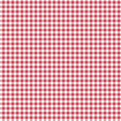 Fabric - Jacobean Check - Red