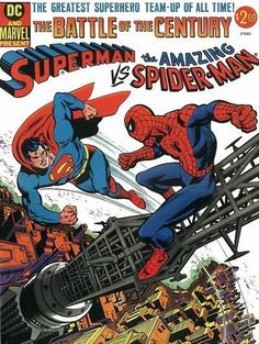 Superman vs. the Amazing Spider-Man #1 - Comic Book Cover