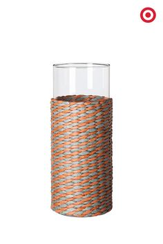 Nate Berkus Woven Wrapped Vase (Set of *** Details can be found by clicking on the image. (This is an affiliate link and I receive a commission for the sales) Portland Apartment, Best Wraps, Nate Berkus, Woven Wrap, How To Make Diy, Nautical Theme, A Table, Glass Vase, Sweet Home