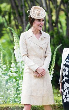 Catherine, Duchess of Cambridge attends the Secretary of State's annual Garden party at Hillsborough Castle on June 14, 2016 in Belfast, Northern Ireland.