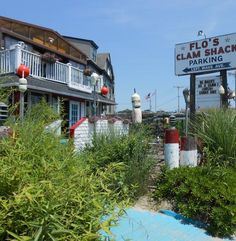 Flos Clam Shack Newport Rhode Island - considered a must do when in New Port