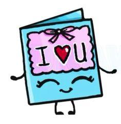 I ♡ U Card
