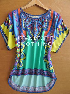 $78 Billy Modcloth Top Free Vintage Print Trendy Blouse Urban People Clothing