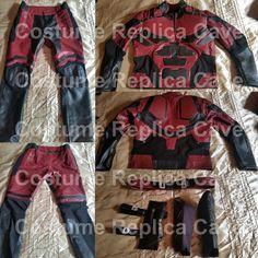 Daredevil replica costume (Leather and cordura) Daredevil Costume, Netflix, Sheep Leather, Super Hero Costumes, Tumi, Defenders, Winter Soldier, Costume Ideas, Motorcycle Jacket