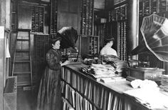 Vintage Record store... (circa early 1900s)