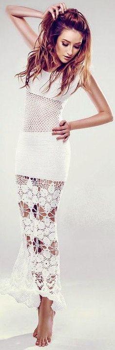 crochet dress by Terezza