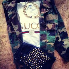 @Gucci & camo | on #Styloola