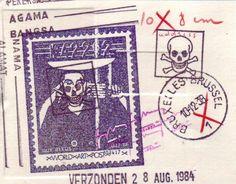 Guy Bleus. Mail art