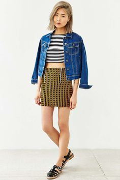 Cooperative Bianca Cropped Tank Top - Urban Outfitters