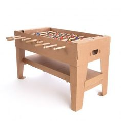 Smallable Toys Cardboard Table Football `One size the game can be easily assembled and dismounted for easy storage, Place for a smartphone with integrated speakers, Integrated cup holders, Wooden ball and game rods, Conform to traditional table footb http://www.MightGet.com/january-2017-13/smallable-toys-cardboard-table-football-one-size.asp