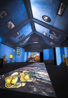 The Amazing Van Gogh Alive Exhibition Zurich. A multi sensory exhibition at the MAAG Halle in Zurich with projections of Van Gogh's paintings Sports Awards, Van Gogh Paintings, Just For Men, Zurich, Classical Music, Halle, Switzerland, Amazing, Winter