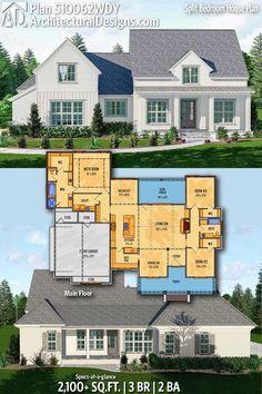 Screen Design Architecture Home 15 Ideas For 2019 Lake House Plans, Bedroom House Plans, New House Plans, Small House Plans, House Floor Plans, Farmhouse Plans, Modern Farmhouse, Craftsman Farmhouse, Modern Country