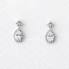 Diamante Bolso Aretes De Plata Novedad Santa secreto Fancy Dress Accesorio