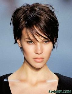 Short pixie haircut pictures of short hair cuts -StyleSN