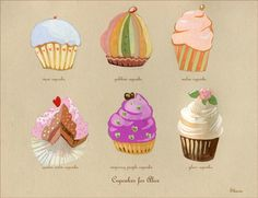Cupcakes for Alice