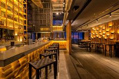 Details of the overall and category winners, and images of the winning projects, from the sixth year of the Restaurant and Bar Design Awards in Vietnam Restaurant, Sushi Dishes, Bar Design Awards, Cigar Bar, Ho Chi Minh City, Tropical, Foie Gras, Tuna, Whiskey