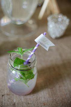 mason jar with mint | Kristyn Hogan