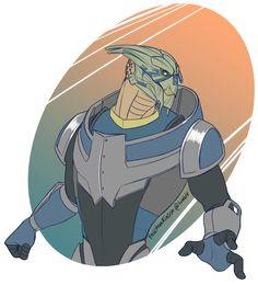 Garrus Vakarian by felitomkinson on deviantART Mass Effect Ships, Mass Effect Garrus, Mass Effect 1, Mass Effect Universe, Commander Shepard, My Emotions, Dragon Age, Concept Art, Comic Books