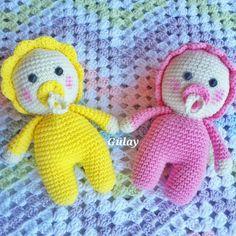 plus - Amigurumi Baby Crochet Crochetmsaplus Doll Free Pacifier Pattern Bag Crochet, Crochet Amigurumi, Amigurumi Doll, Amigurumi Patterns, Doll Patterns, Crochet Baby, Easter Crochet Patterns, Baby Knitting Patterns, Knitted Dolls
