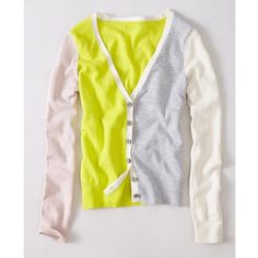 I just discovered this while shopping on Poshmark: Anthropologie Moth Lateral Neon Cardigan Large NEW. Check it out!  Size: L