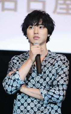 "Kento Yamazaki x Fumi Nikaido, stage greet in Nagoya, May/13/16, J LA movie ""Wolf girl n black prince"". Release: May/28/2016"