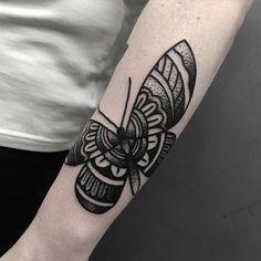 butterfly tattoo by blakey tattooer # butterfly # butterflytattoo ...