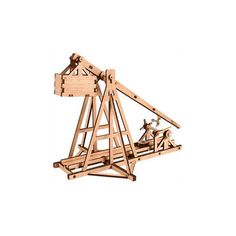 Wooden Model Weapon Kits Korea Series-scale Models Small Korea Trebuchet