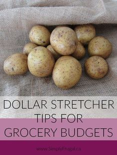 Looking for great dollar stretcher tips for your grocery budget? Here are some of our favorite ideas to make simple grocery items go further.