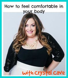 how to be comfortable with your body