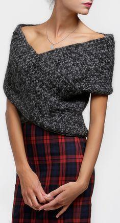 Cross My Heart Wrap Knit Kit