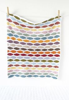 Crochet your own Bertie Baby Blanket!