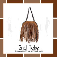 Get this boho chic style leather bag only at 2nd Take! Only one available so hurry! www.2ndtake.co.za #fashion #womens #accessories #bags #at #2ndtake
