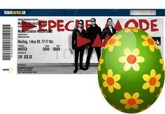 Ich habe ein Osterei gefunden! Jetzt mitmachen bei der grossen Ticketcorner Eiersuche! #TicketcornerEasterWin Concerts