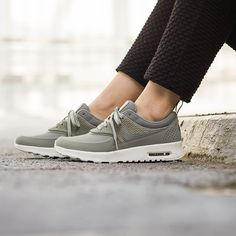 The 25th anniversary for the @nikesportswear Air Max Thea is around the corner and whilst we can be sure there will be a slew of new versions coming soon, for now this PRM Leather version for women is all kinds of good. Link in bio. #nike #nikesportswear #airmax #airmaxthea #sneaker #sneakers #onfeet #womft #fashion #hypebeast #highsnobiety #sneakerfreaker #nicekicks #whatdropsnow #thedropdate #allikestore