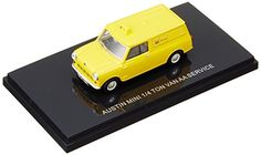 EBBRO 143 Austin Mini Van AA yellow japan import -- Read more at the image link.