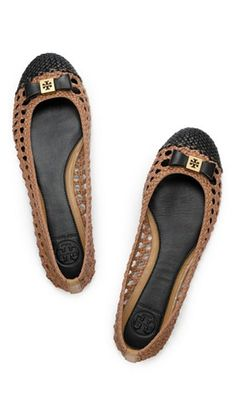 Flats for Fall #toryburch