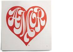 house industries: spanish love heart print