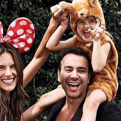 Alessandra Ambrosio Channels Mini Mouse