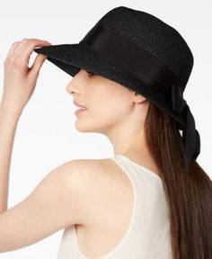 Scala Bow Framer Hat - Black