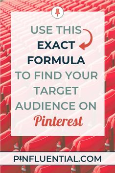 The best way to establish your brand on #Pinterest and grow your following is to find your ideal Pinterest audience and serve as a resource for them. Use this exact formula to develop your Pinterest avatar! #Pinfluential #PinterestForBusiness #PinterestMa