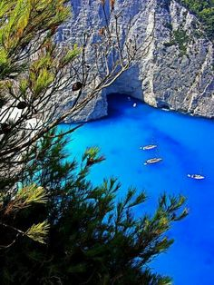 Navagio beach, it can't get any more turquoise than that!!!