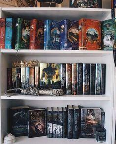 Not my photo!!! Bookshelf