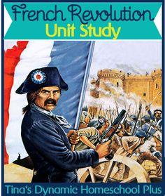 Free French Revolution Homeschool Unit Study & Lapbook @ Tina's Dynamic Homeschool Plus