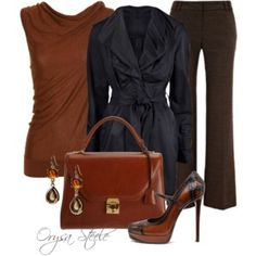 Dressed Up for Fall - Polyvore