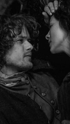 Jamie & Claire from the Outlander series: Photo Outlander Season 1, Outlander Casting, Sam Heughan Outlander, Outlander Book, Jamie Fraser, Claire Fraser, Jamie And Claire, Diana Gabaldon Outlander Series, Outlander Tv Series