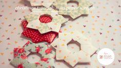 Love Mae Blog: Mini Paper Wreath Tutorial